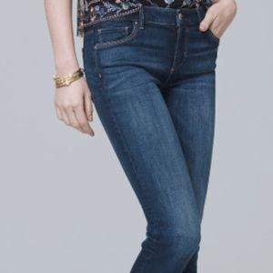 White House Black Market Slim Crop Jean - Size 14